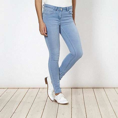 Red Herring - Light blue +Cara+ jersey jeans