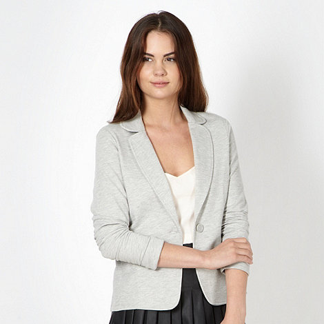 Red Herring - Grey jersey blazer