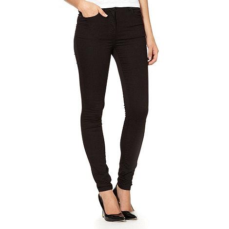 Red Herring - Black super skinny high rise jeans