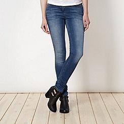 Red Herring - Blue super skinny jeans