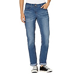 Red Herring - Blue relaxed skinny jeans