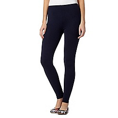Red Herring - Navy full length leggings