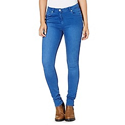 Red Herring - Bright blue 'Holly' super skinny jeans