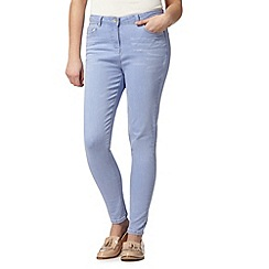 Red Herring - Pale blue denim 'Holly' super skinny jeans