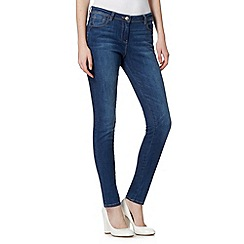 Red Herring - Blue vintage wash 'Holly' super skinny jeans