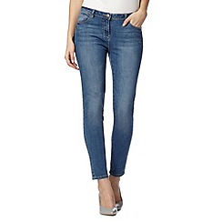 Red Herring - Light blue vintage wash 'Holly' super skinny jeans