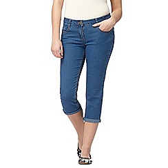 Red Herring - Light blue denim cropped 'Lulu' skinny jeans