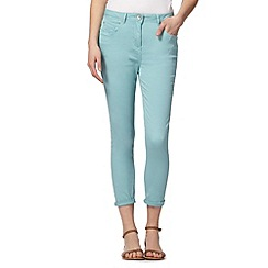Red Herring - Turquoise ankle grazer 'Holly' super skinny jeans