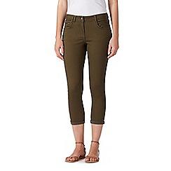 Red Herring - Khaki skinny ankle grazer jeans