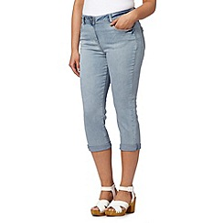 Red Herring - Light blue vintage crop jeans