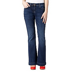 Red Herring - Dark blue kickflare jeans
