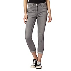 Red Herring - Light grey 'Holly' super skinny jeans