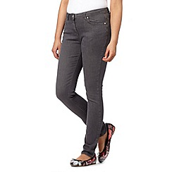 Red Herring - Dark grey super skinny jeans