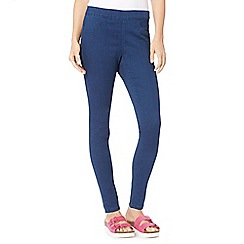 Red Herring - Dark blue skinny 'Georgia' jeggings