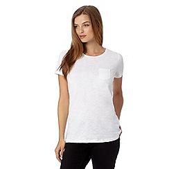 Red Herring - White pocket t-shirt