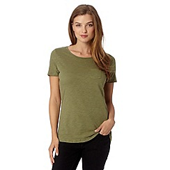 Red Herring - Khaki pocket t-shirt