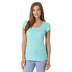 Red Herring - Turquoise scoop neck t-shirt