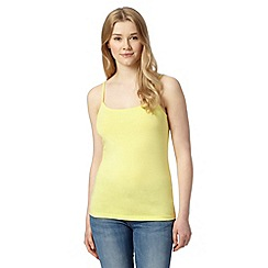 Red Herring - Yellow plain camisole