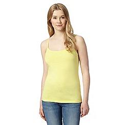 Red Herring - Yellow plain camisole