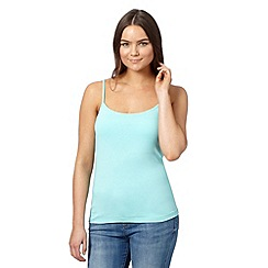 Red Herring - Turquoise plain camisole