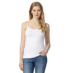 Red Herring - White plain camisole