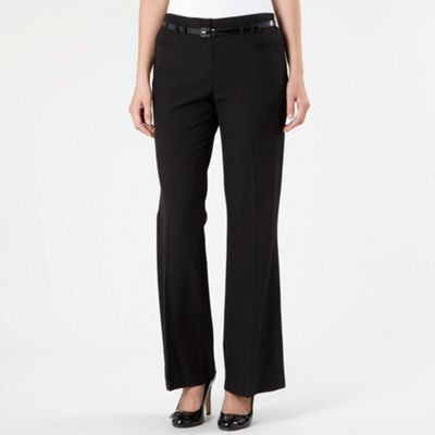 Black Pablo Kickflare Trousers
