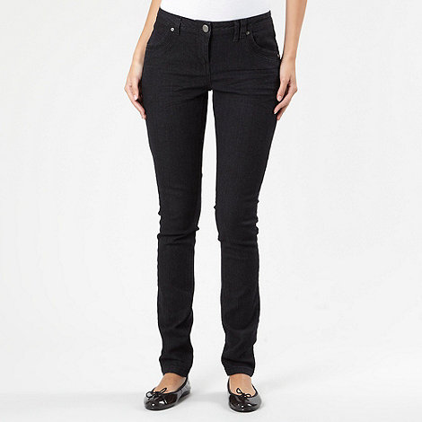 Red Herring - Black essential skinny jeans