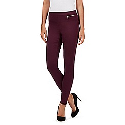 Red Herring - Dark purple 'Georgia' jeggings