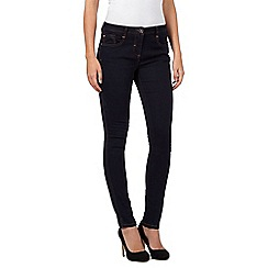 Red Herring - Dark blue petite 'Lulu' skinny jeans