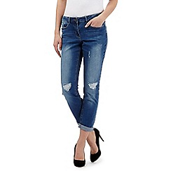 Red Herring - Distressed wash 'Chloe' boyfriend jeans