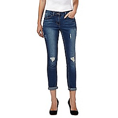 Red Herring - Dark blue 'Chloe' boyfriend jeans