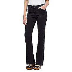 Red Herring - Black 'Amber' flared jeans