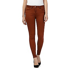Red Herring - Tan 'Holly' super skinny jeans