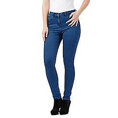 Red Herring - Rinse wash 'Heidi' high-waisted skinny jeans