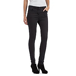 Red Herring - Dark grey 'Holly' super skinny jeans