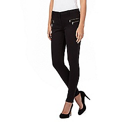 Red Herring - Black 'Holly' super skinny jeans