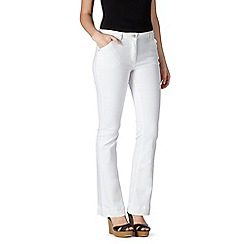 Red Herring - White 'Amber' flared jeans