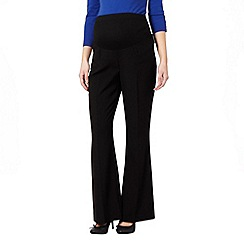 Red Herring Maternity - Smart Black Maternity Trousers