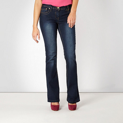 Red Herring - Blue +Daisy+ bootcut jeans