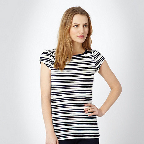 Red Herring - Navy striped t-shirt