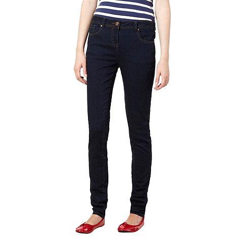 Red Herring - Dark blue +Holly+ super skinny jeans