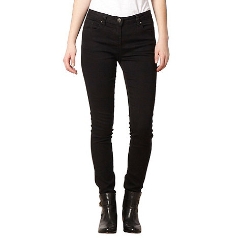 Red Herring - Black +Holly+ super skinny jeans