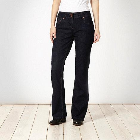 Red Herring - Dark blue super shaper bootcut jeans