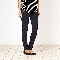 Red Herring Maternity - Black skinny maternity jeans