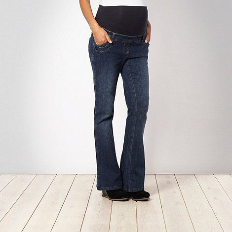 Red Herring Maternity - Blue bootcut maternity jeans