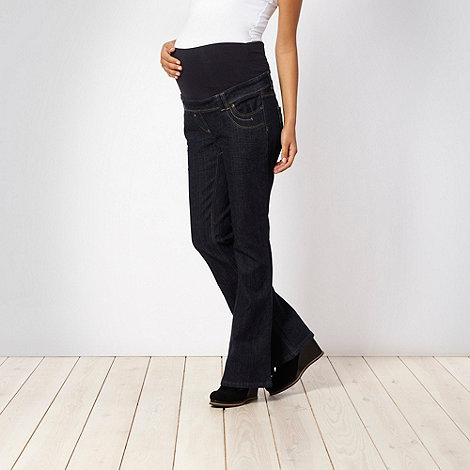 Red Herring Maternity - Dark blue bootcut maternity jeans