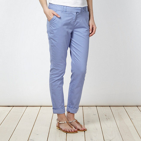 Red Herring - Light blue tapered leg trousers
