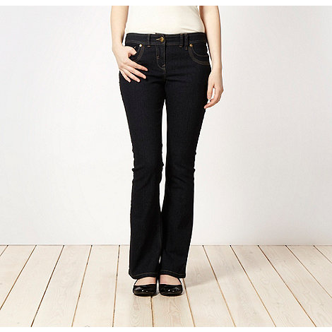 Red Herring - Dark blue +Daisy+ bootcut jeans