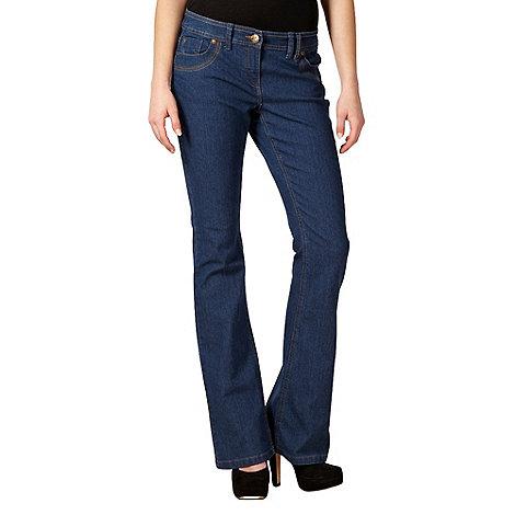 Red Herring - Blue +Daisy+ bootcut denim jeans