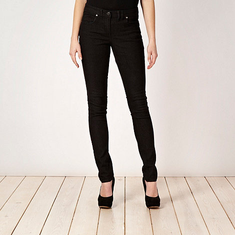 Red Herring - Black 'Lulu' skinny jeans